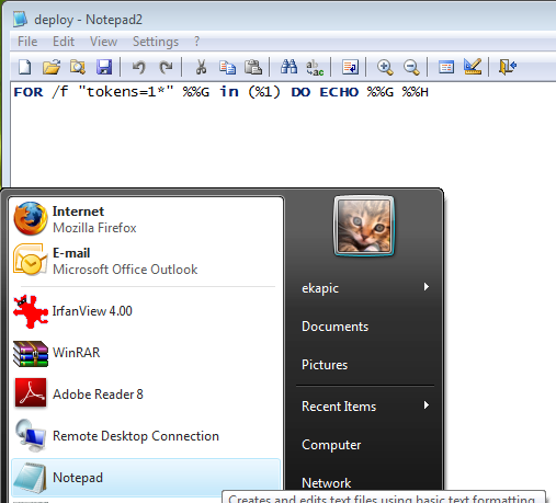 How to Replace Notepad in Windows Vista