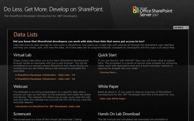 New SharePoint Training Content