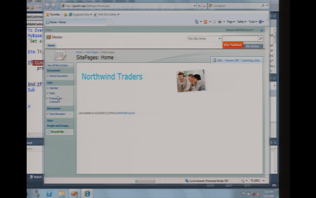 At Last: First SharePoint 2010 Screenshots Leaked