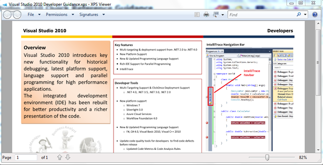 Visual Studio 2010 Quick Reference Cards on CodePlex
