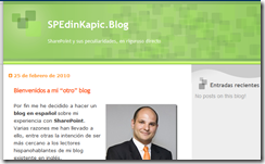 My New Blog in Spanish: SPEdinKapic.Blog