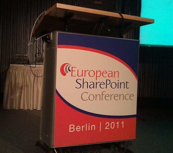 Conferencia europea de SharePoint: tercer día