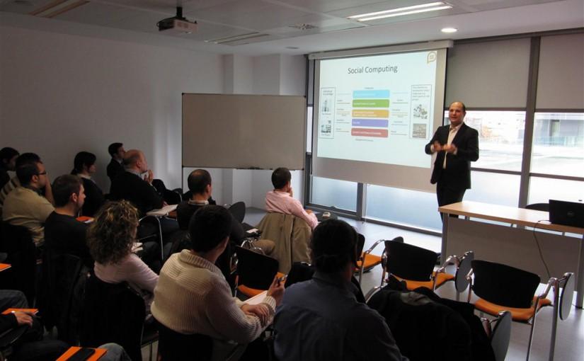 """Las diapositivas de la presentación """"SharePoint: Presente y futuro"""""""