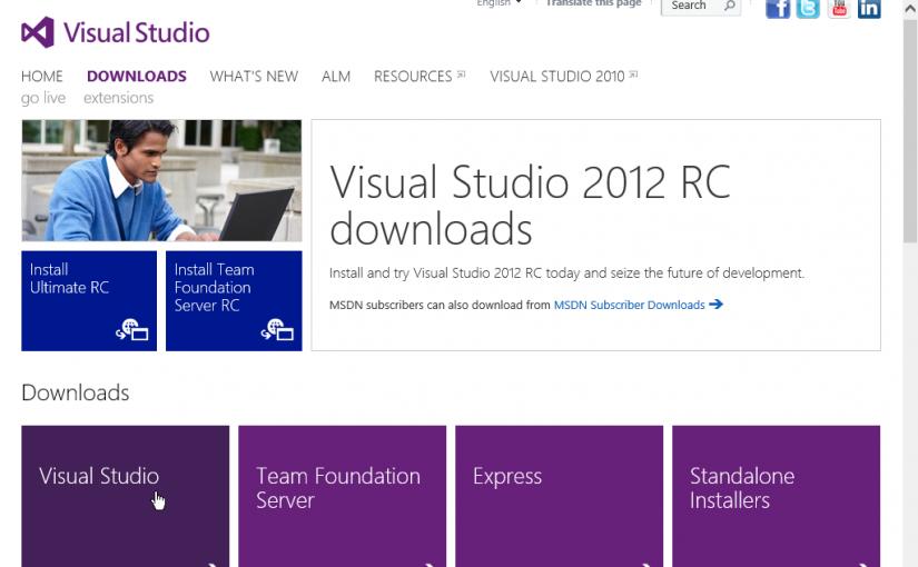 Montar un entorno de SharePoint 2013: Visual Studio