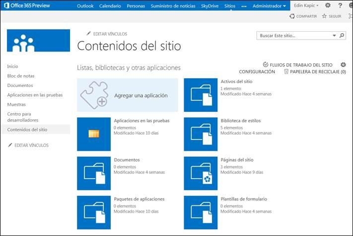 Las Apps de SharePoint 2013 (I): Introducción