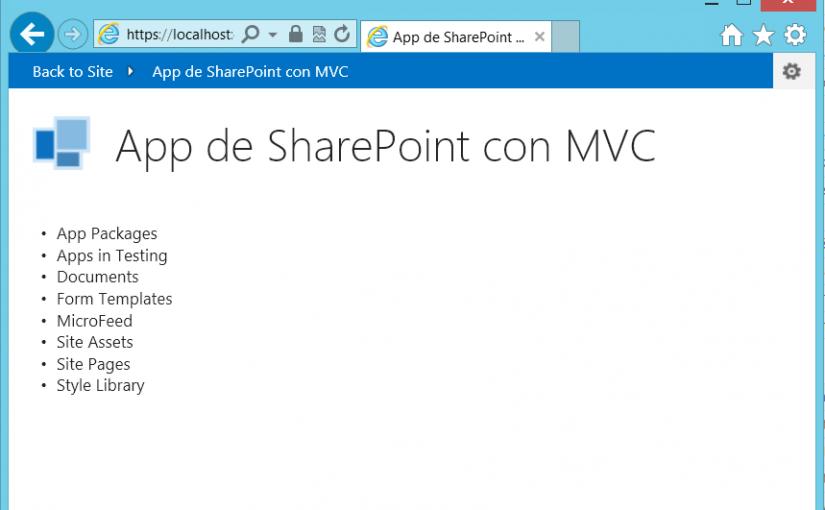Las apps de SharePoint 2013 (V): Una app provider-hosted en Azure