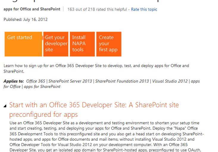 Las apps de SharePoint 2013 (IV): Una app en MVC y en Azure