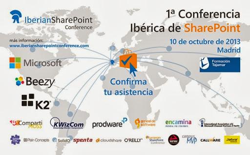 No te pierdas la Iberian SharePoint Conference