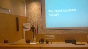 Edin Kapic Personal Branding for Developers Talk