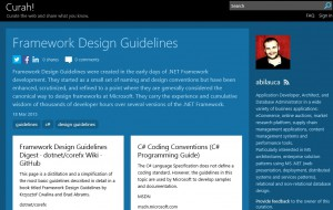 Microsoft Curah! curated content portal