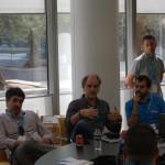 Los maestros de CompartiMOSS en la discusión sobre las apps