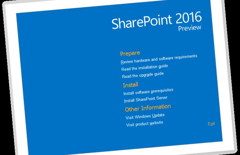 SharePoint 2016 y las expectativas