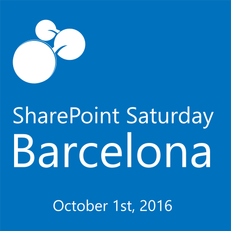 SharePoint Saturday Barcelona 2016